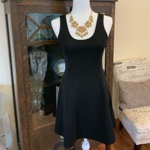 Black Divided Night Out Dress